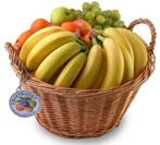 fruktkorg bananplus